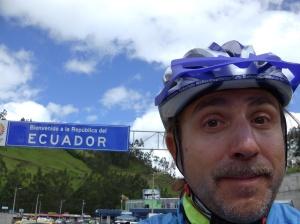 Matteo Tricarico Ecuador border