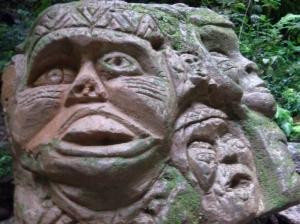 scimmie nella roccia