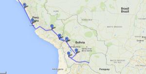 Maps Peru-Bolivia