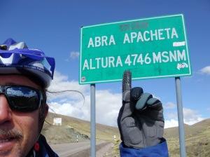 Matteo Tricarico - 4746 m - Peru