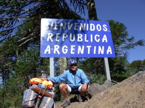 Matteo Argentina border - Patagonia