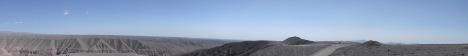 panorama deserto iquique