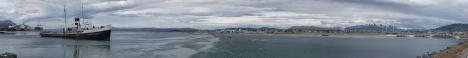 panorama porto Ushuaia