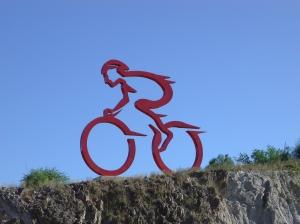 Scultura ciclista - Argentina
