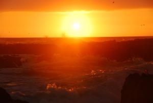 tramonto al mare - iquique